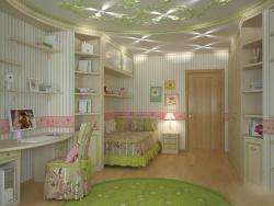 <p><em><strong>Ремонт, отделка и&nbsp; оформление детской комнаты для девочки.</strong></em></p>