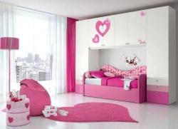 <p><em><strong>Дизайн детской:&nbsp; Очень светлая комната для маленькой девочки.</strong></em></p>