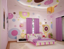 <p>Детская комната для девочки.</p>