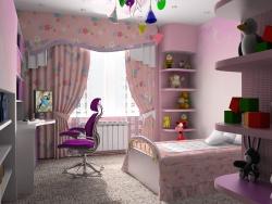 <p><em><strong>Детская комната для девочки - маленькой феи. Ремонт и отделка.</strong></em></p>